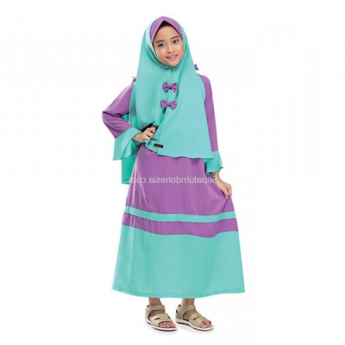 Bentuk Baju Lebaran 2018 Anak Perempuan Kvdd Baju Muslim Anak Remaja Wanita