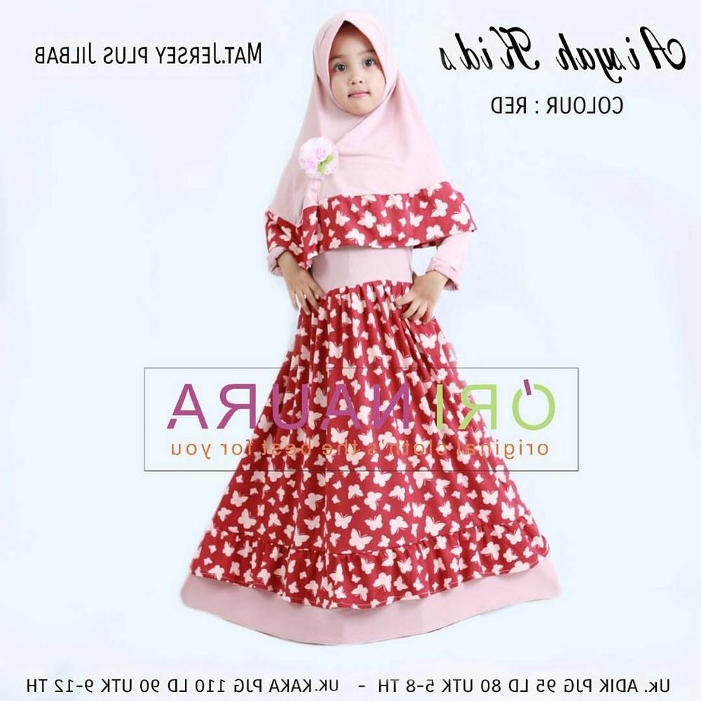 Bentuk Baju Lebaran Anak Anak Gdd0 Jual Gamis Anak Baju Muslim Anak Baju Lebaran Anak