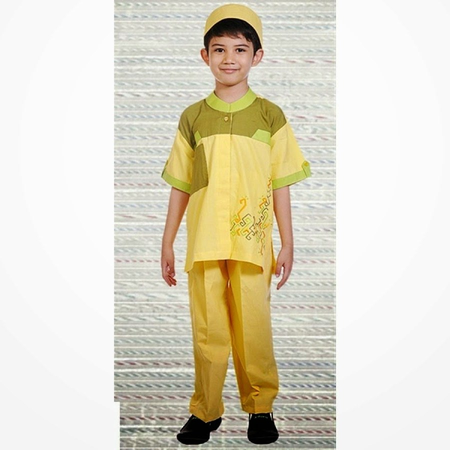 Bentuk Baju Lebaran Anak Anak O2d5 Foto Busana Muslim Anak Laki Laki 2019 Foto Gambar Terbaru