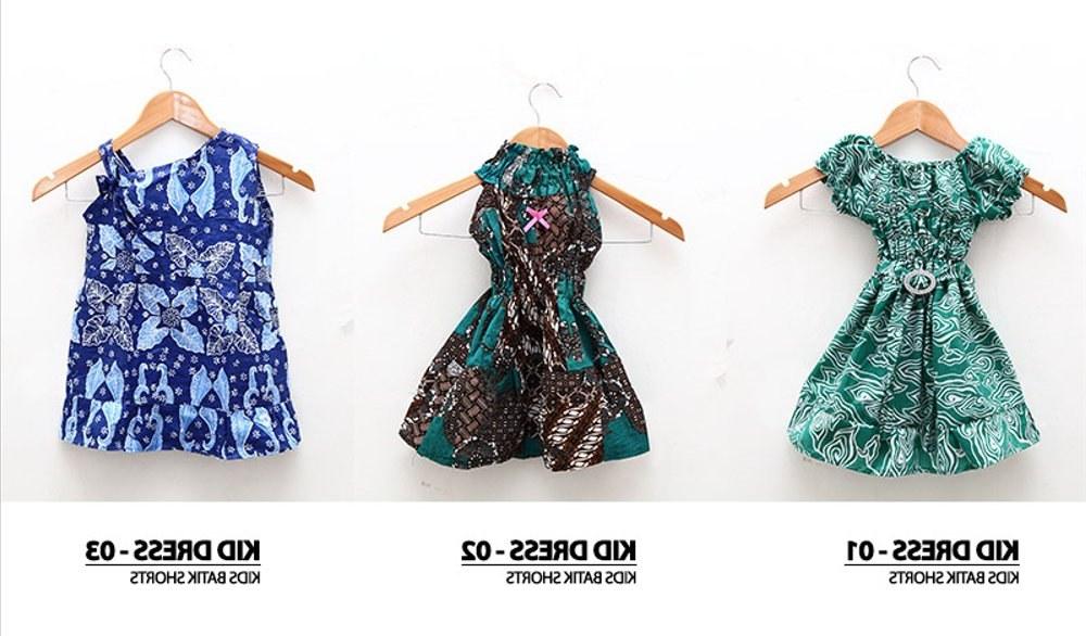 Bentuk Baju Lebaran Anak Perempuan Umur 3 Tahun H9d9 Jual Dress Batik Anak Kecil Baju Terusan Umur 1 3 Tahun Di