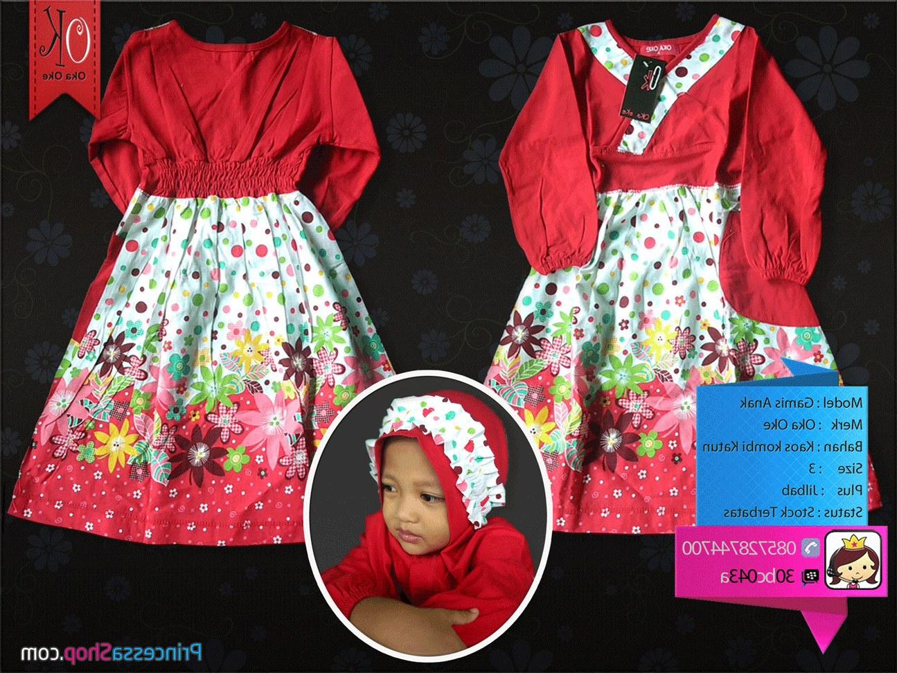 Bentuk Baju Lebaran Anak Perempuan Umur 3 Tahun Ipdd Model Baju Muslim Anak Terbaru