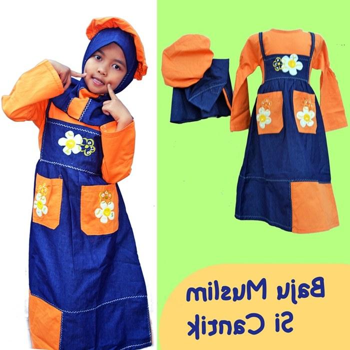 Bentuk Baju Lebaran Anak Perempuan Umur 3 Tahun Irdz Jual Baju Muslim Anak Wanita 1 3 Tahun ortucerdas