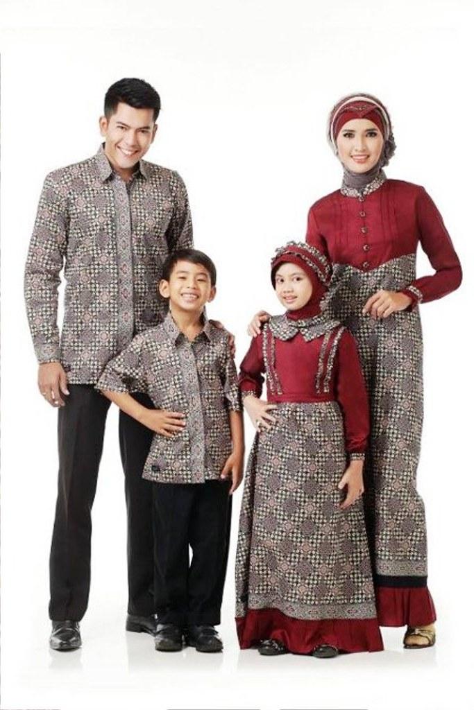 Bentuk Baju Lebaran Anak2 S1du 25 Model Baju Lebaran Keluarga 2018 Kompak & Modis