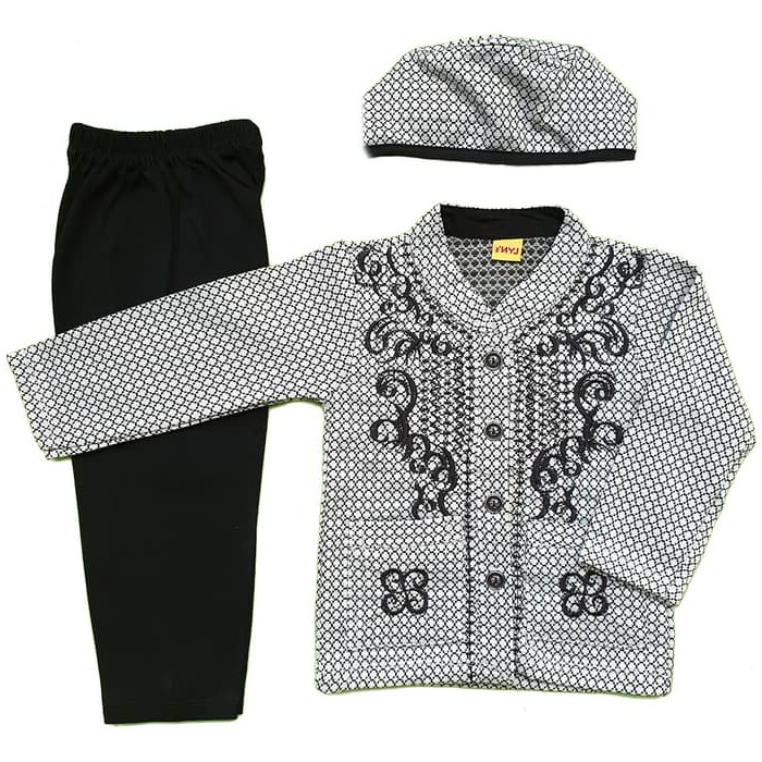 Bentuk Baju Lebaran Bayi 6 Bulan 0gdr Jual Baju Muslim Koko 6 12 Bulan Anak Bayi Laki Laki