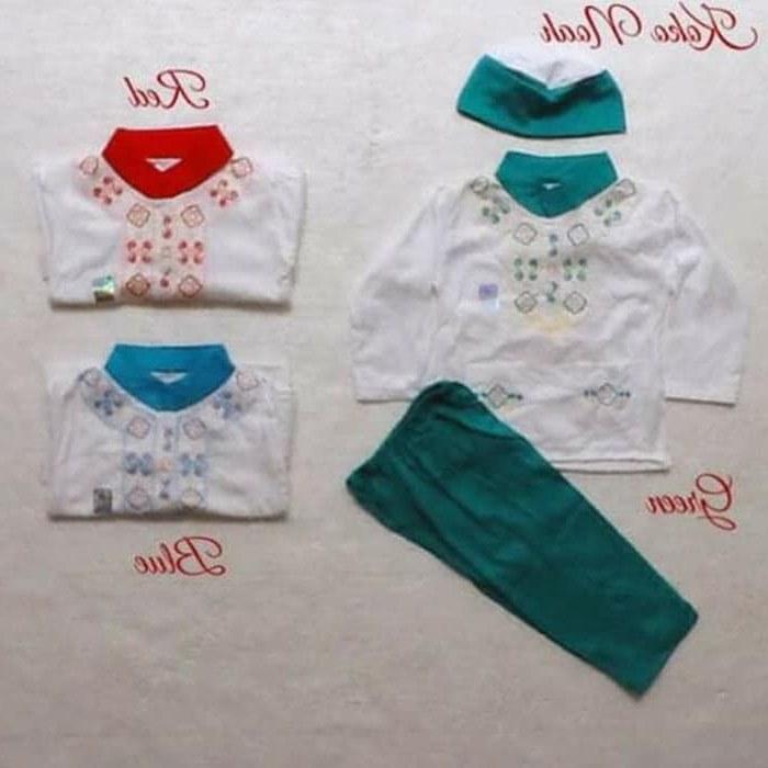 Bentuk Baju Lebaran Bayi 6 Bulan 0gdr Jual Koko Baju Muslim Anak Bayi Laki 0 1 2 3 4 5 6 7 8 9