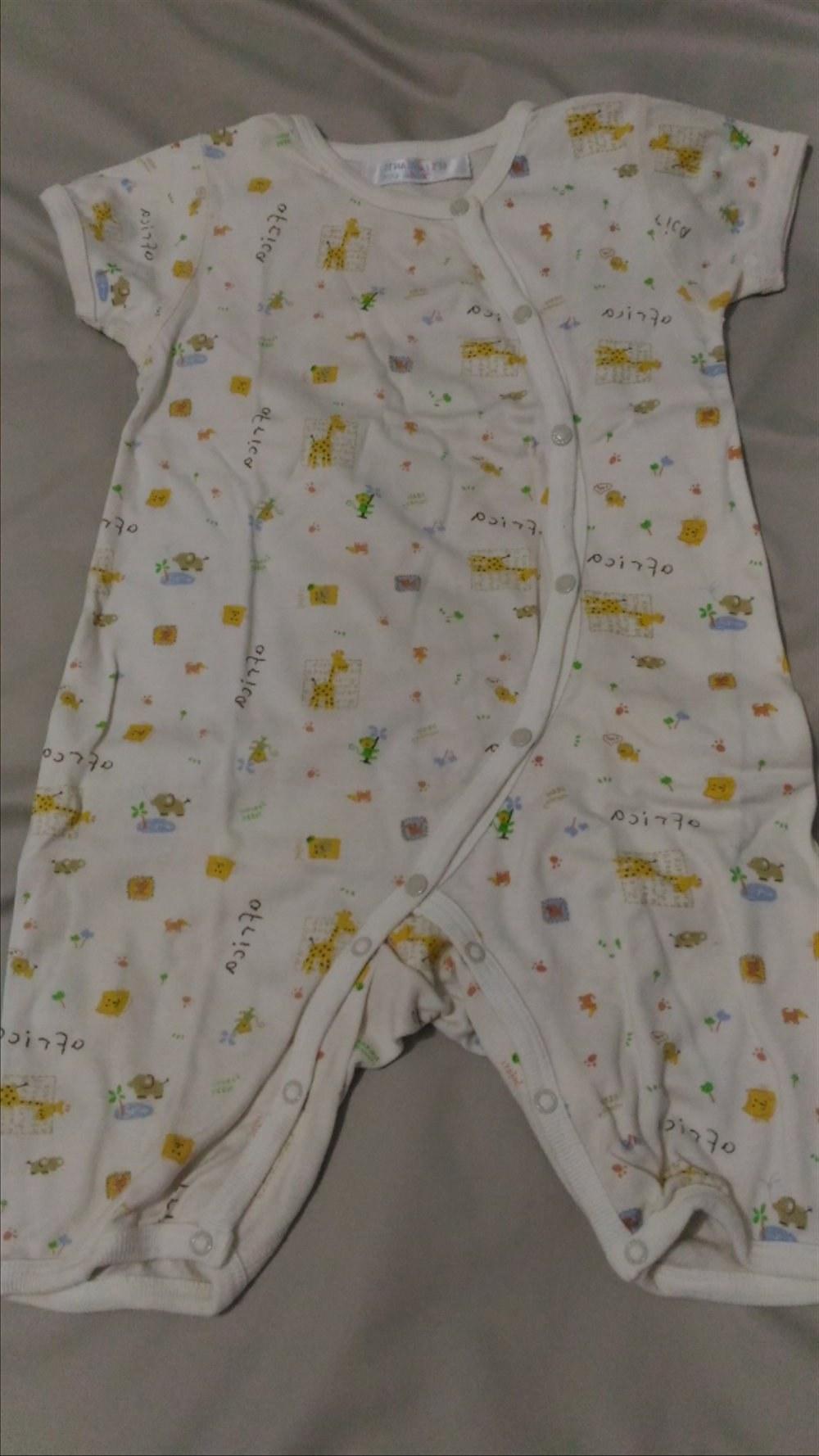 Bentuk Baju Lebaran Bayi 6 Bulan 87dx Jual Baju Bayi Umur 3 6 Bulan 4 Pcs Di Lapak