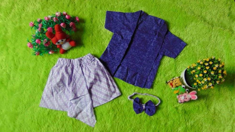 Bentuk Baju Lebaran Bayi 6 Bulan Q0d4 Jual Setelan Baju Kebaya Kutu Baru Bayi 6bulan 2tahun Plus