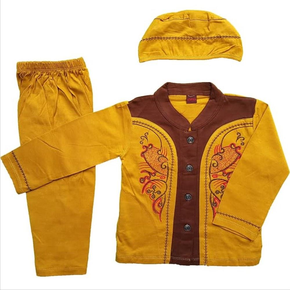 Bentuk Baju Lebaran Bayi Laki Laki 3id6 Jual Baju Muslim Koko 6 12 Bulan Anak Bayi Laki Laki