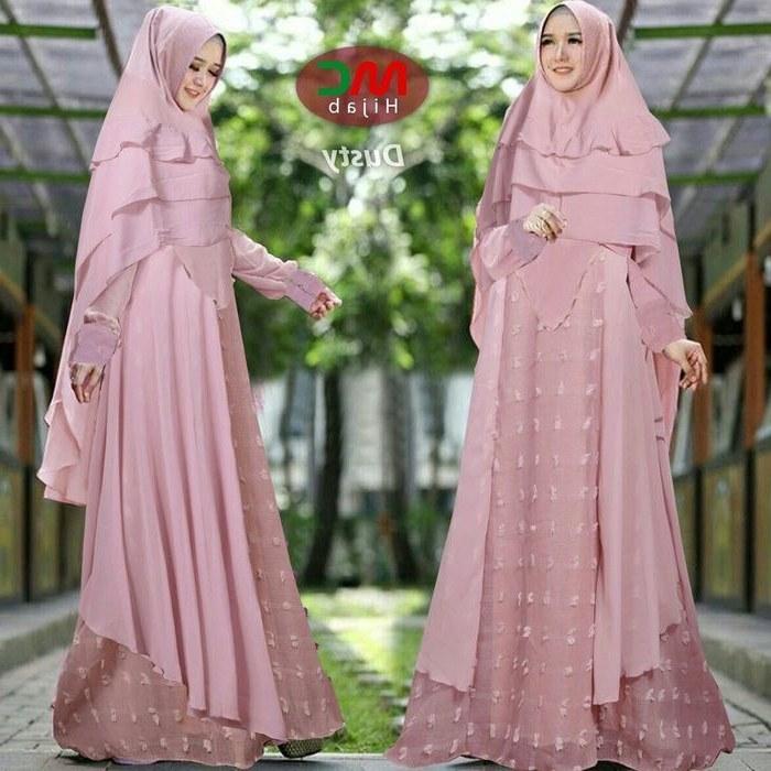 Bentuk Baju Lebaran Gamis 2018 X8d1 Model Baju Lebaran 2018 Colosa Pink