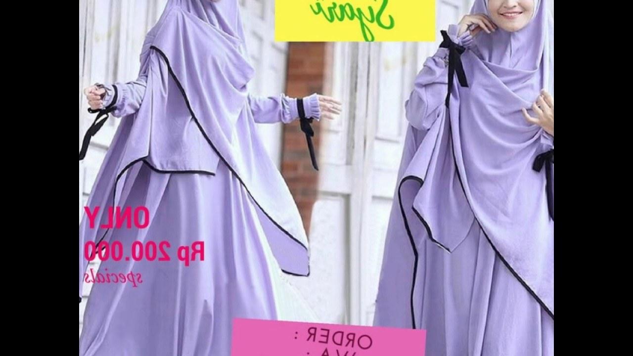 Bentuk Baju Lebaran Ibu Menyusui E9dx Ameera Gamis Syar I Baju Muslim Syar I Ibu Menyusui