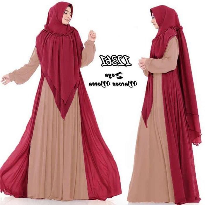 Bentuk Baju Lebaran Jumbo Gdd0 30 Model Baju Lebaran 2019 Gamis Fashion Modern Dan