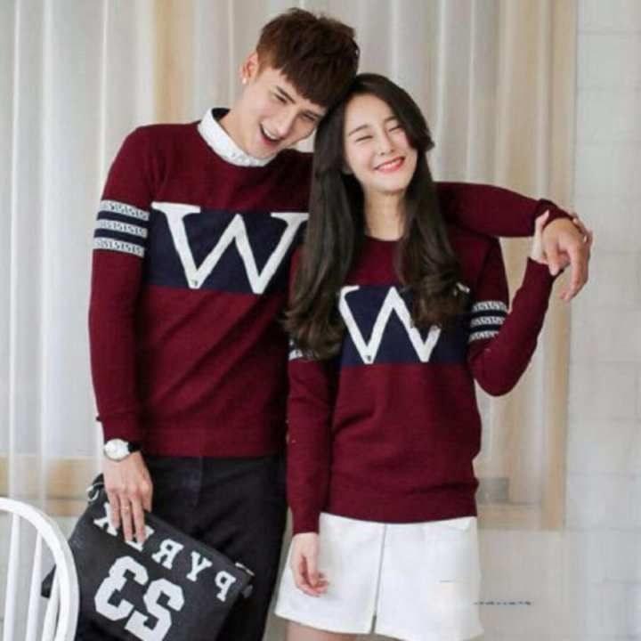 Bentuk Baju Lebaran Kapel Ftd8 Kaos Couple Lengan Panjang Baju Couple Kaos Kapel Baju