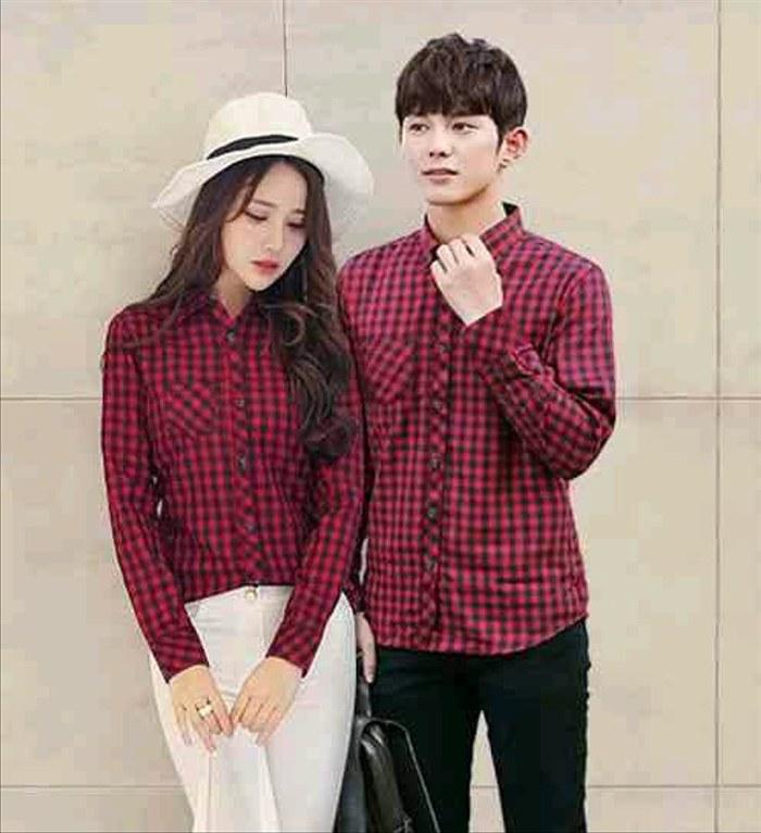 Bentuk Baju Lebaran Kapel J7do Jual Kemeja Couple Baju Pasangan Baju Kapel Kemeja