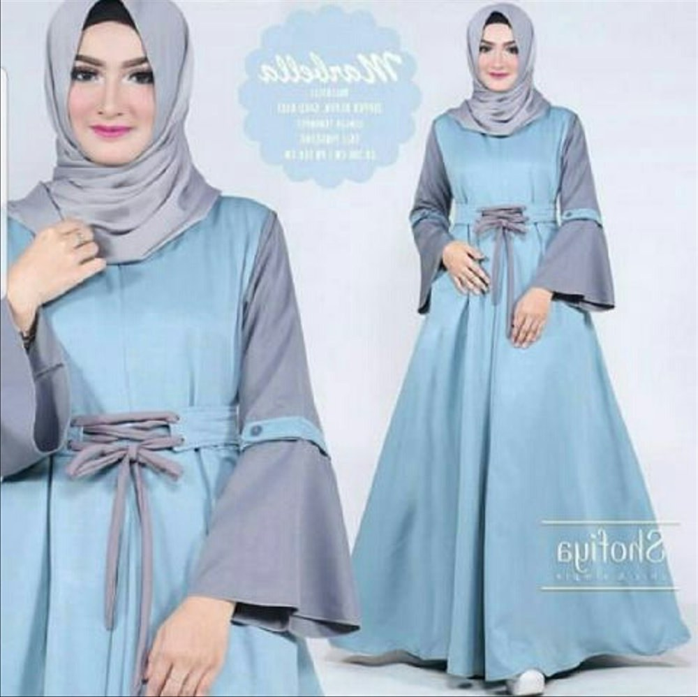 Bentuk Baju Lebaran Model Baru E6d5 Jual Model Baju Muslim Gamis Terbaru Dan Modern Ld