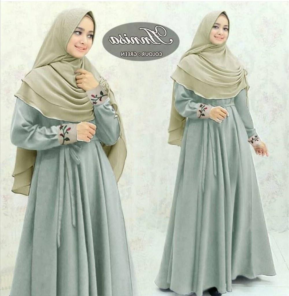 Bentuk Baju Lebaran Model Sekarang Ftd8 Jual Baju Muslim Model Terbaru Gamis Murah Di Lapak