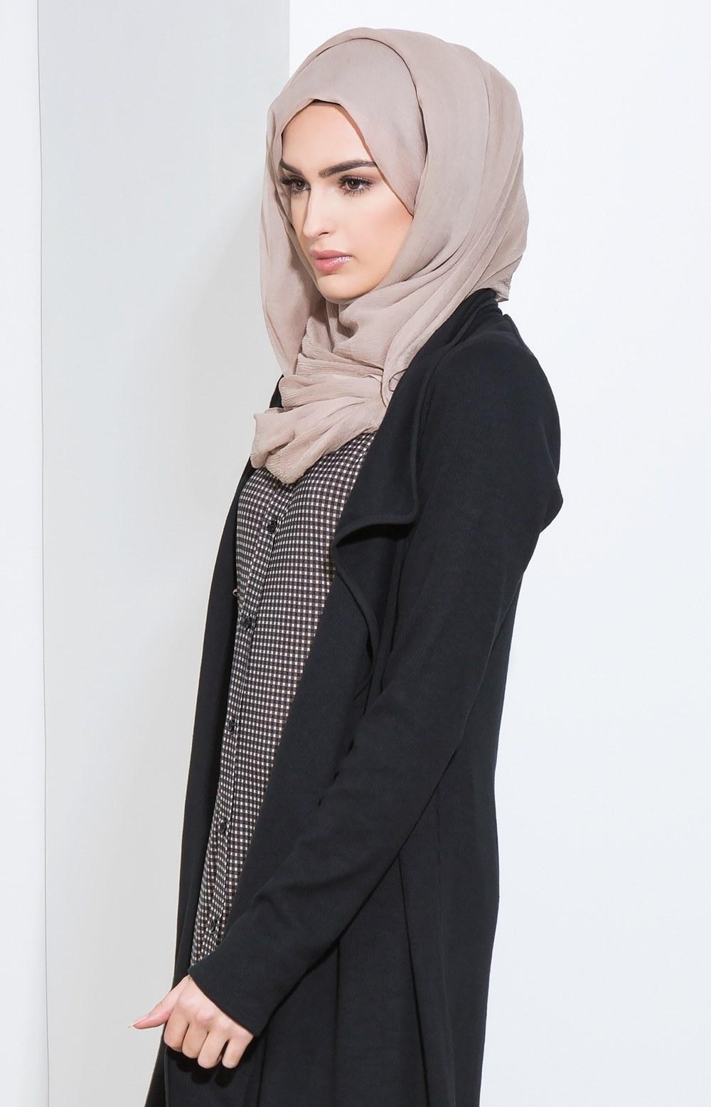 Bentuk Baju Lebaran Model Skrng Ffdn 25 Trend Model Baju Muslim Lebaran 2018 Simple & Modis