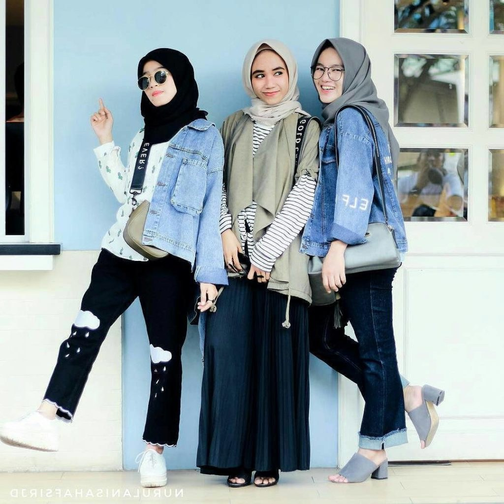 Bentuk Baju Lebaran Remaja 3ldq Fashion Wanita Hijab