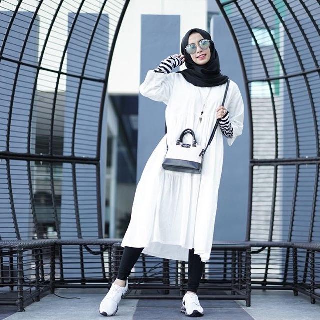 Bentuk Baju Lebaran Remaja Kekinian Etdg Gaya Hijabers Kekinian Untuk Remaja Wanita