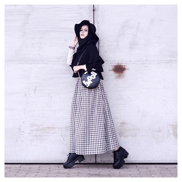 Bentuk Baju Lebaran Remaja Kekinian J7do Gaya Hijabers Kekinian Untuk Remaja Wanita