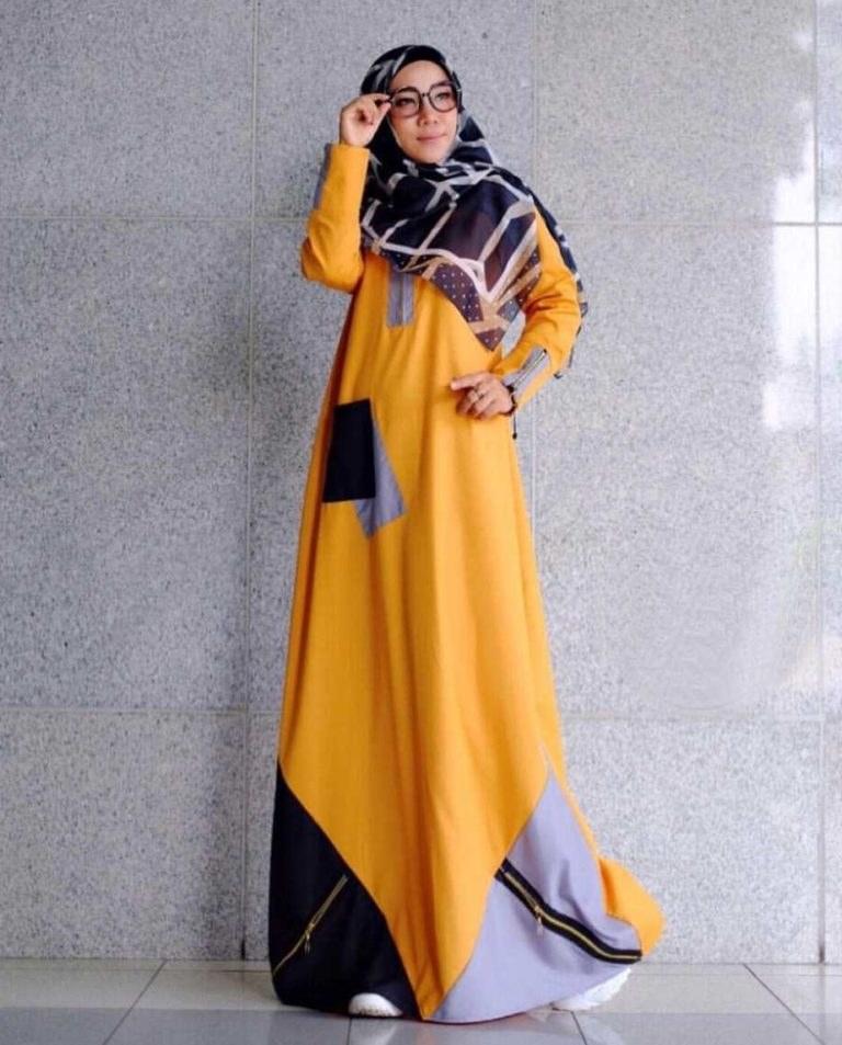 Bentuk Baju Lebaran Remaja Kekinian Tldn Model Baju Gamis 2019 Remaja Modern Yura Gamisalya