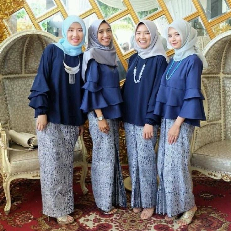 Bentuk Baju Lebaran Remaja Tqd3 Contoh Seragam Bridesmaid Terbaru – Specialist Kebaya Gaun