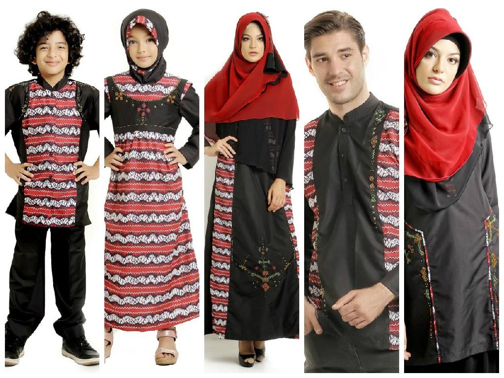 Bentuk Baju Lebaran Sarimbit 2018 0gdr Contoh Model Baju Muslim Terbaru Lebaran 2019