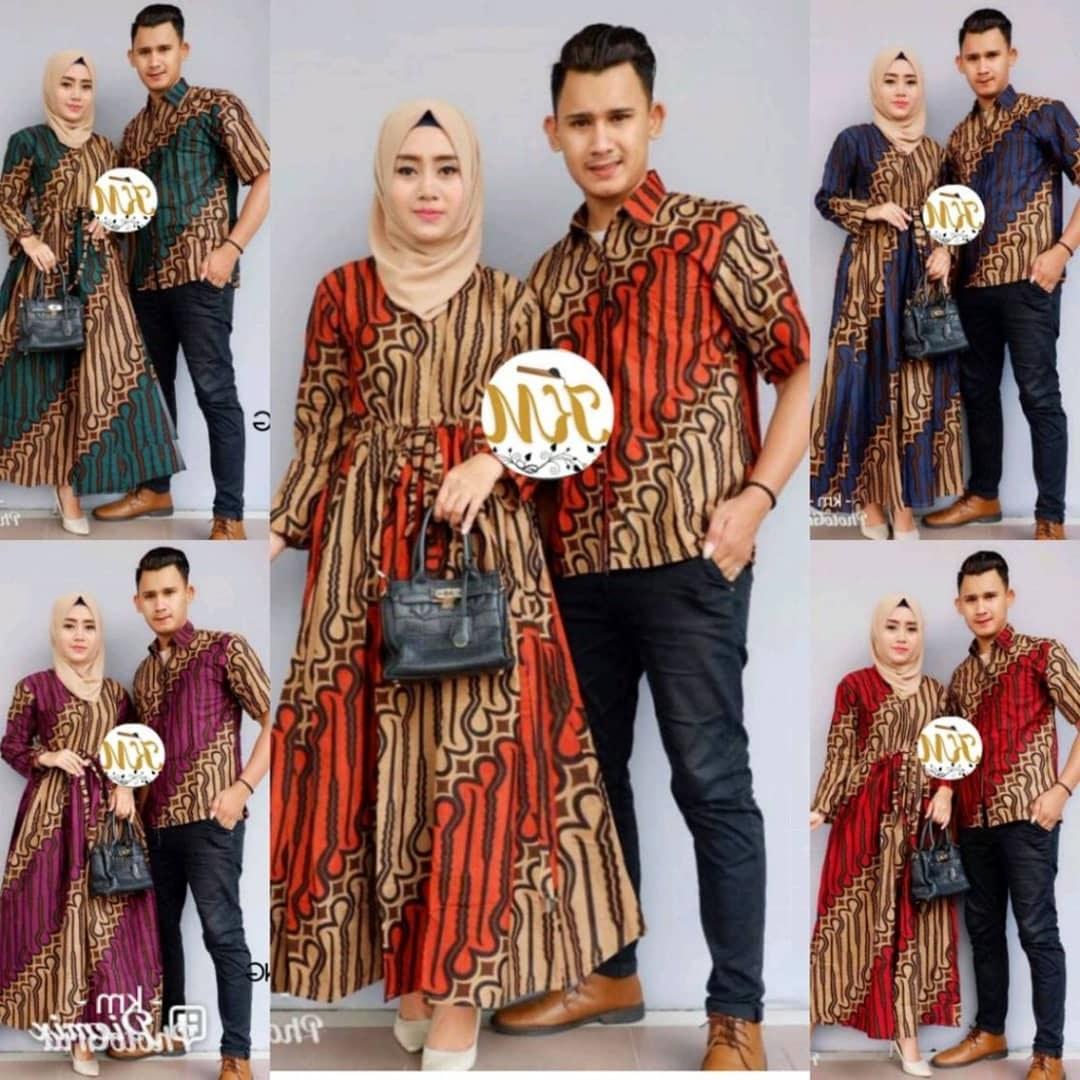 Bentuk Baju Lebaran Sarimbit 2018 Zwd9 Contoh Baju Couple Baju Gamis Batik Busana Muslim Terbaru 2018