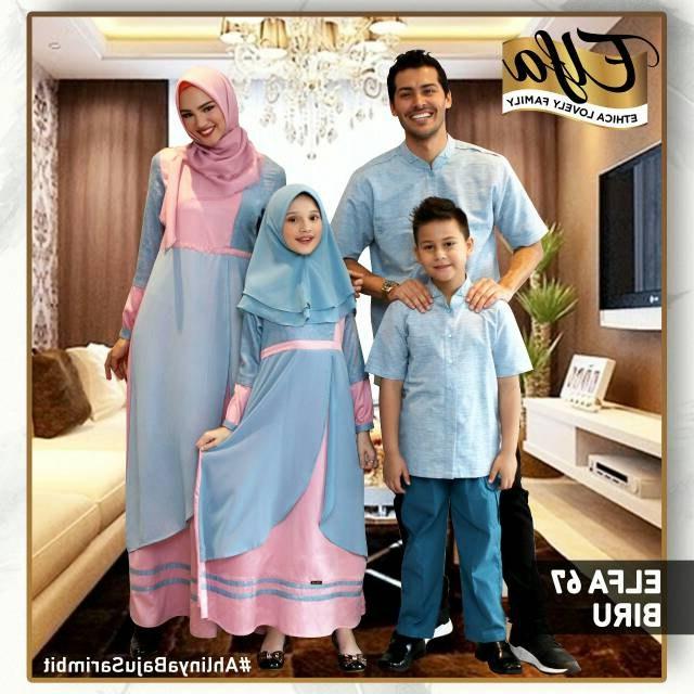 Bentuk Baju Lebaran Shopee Txdf Ethica Elfa 67 Baju Muslim Sarimbit Keluarga original