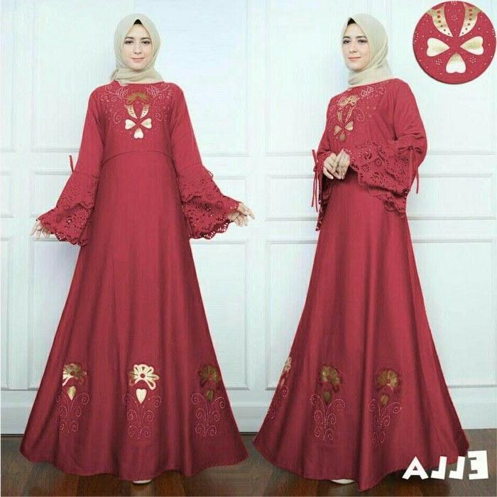 Bentuk Baju Lebaran Simpel Elegan 87dx Baju Lebaran Simple Elegan Nusagates