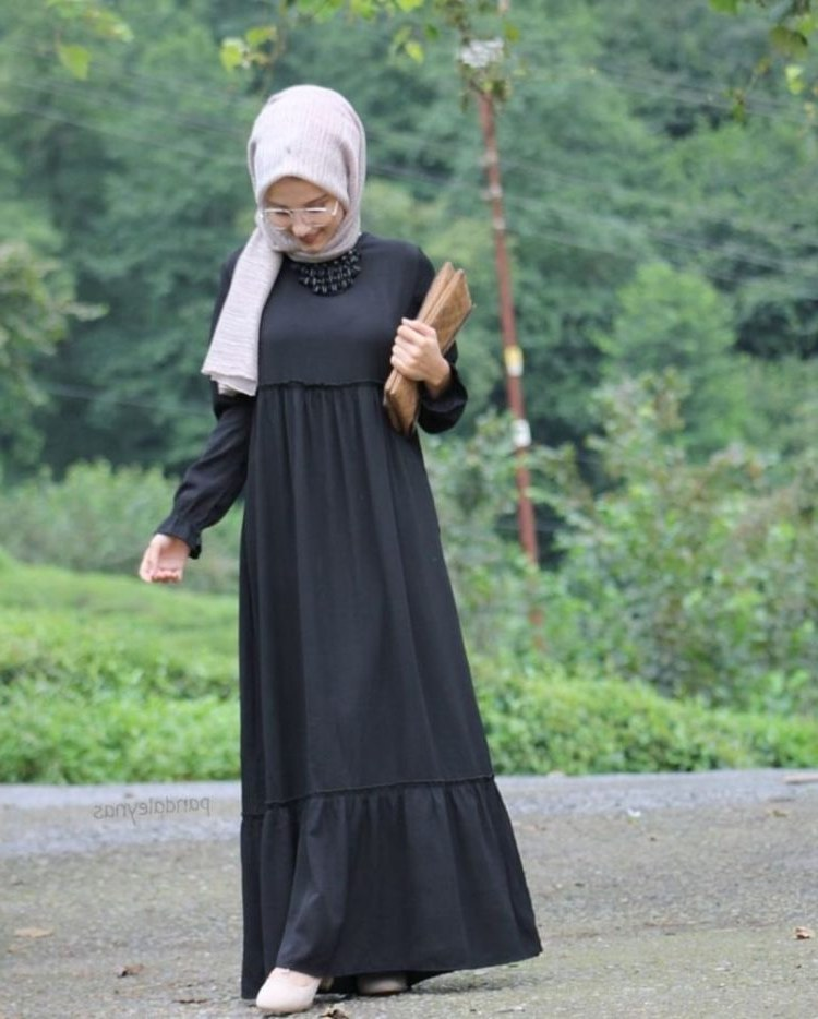 Bentuk Baju Lebaran Simpel Elegan 9ddf 30 Model Baju Gamis Terbaru Lebaran Simpel Modern Elegan