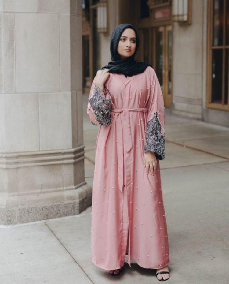 Bentuk Baju Lebaran Simpel Elegan Gdd0 30 Model Baju Gamis Terbaru Lebaran Simpel Modern Elegan