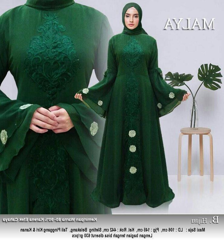 Bentuk Baju Lebaran Tanah Abang Budm Model Baju Gamis Lebaran Tanah Abang Malya Gamisalya