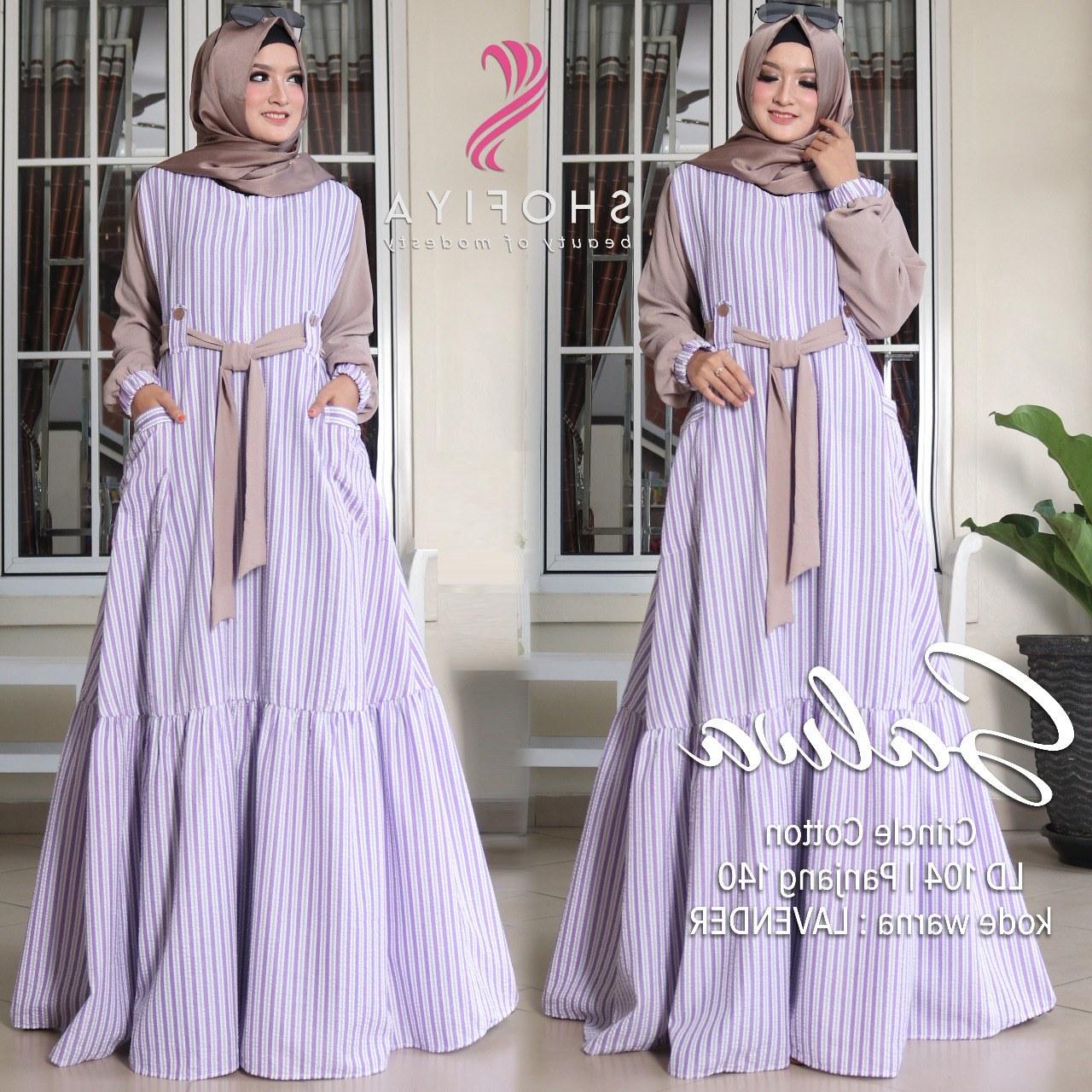Bentuk Baju Lebaran Thn Ini Bqdd Lebaran Model Baju Gamis Terbaru Nusagates