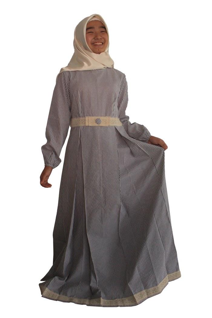 Bentuk Baju Lebaran Untuk Anak Usia 13 Tahun 87dx 30 Model Gamis Anak Umur 13 Tahun Fashion Modern Dan
