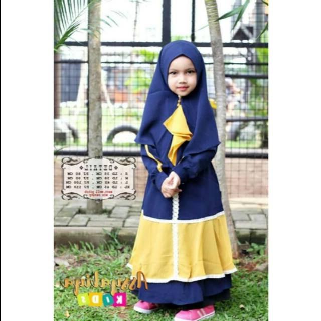Bentuk Baju Lebaran Untuk Anak Usia 13 Tahun Etdg 30 Model Gamis Anak Umur 13 Tahun Fashion Modern Dan