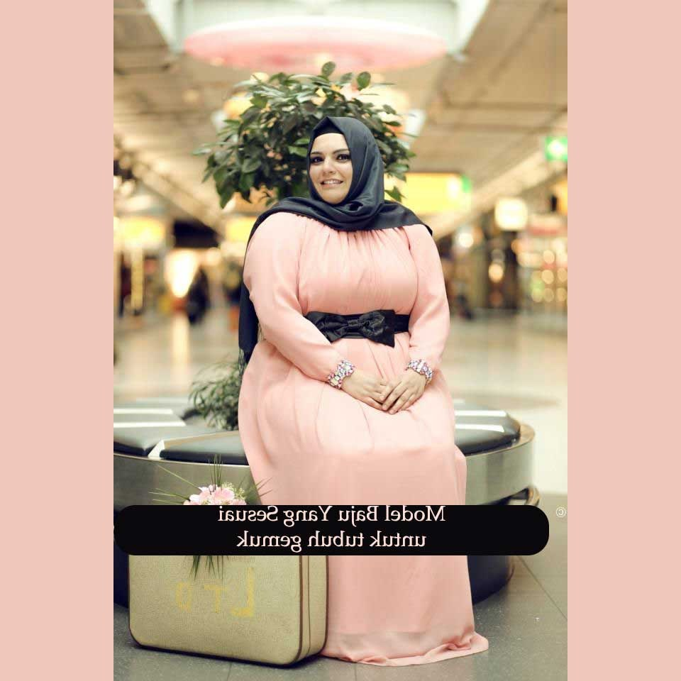 Bentuk Baju Lebaran Untuk Ibu Gemuk Whdr Model Baju Hijab Untuk orang Gemuk Sebuah Tips