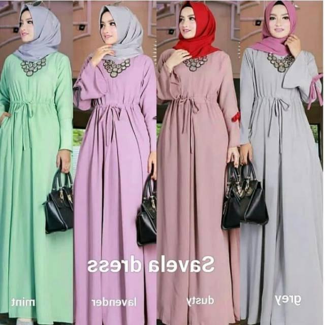 Bentuk Baju Lebaran Wanita Terbaru Q0d4 Model Baju Wanita Terbaru Kekinian Untuk Lebaran Ella27