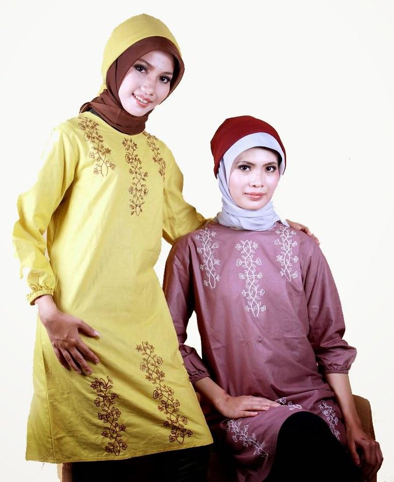 Bentuk Baju Lebaran Wanita Terbaru Wddj 20 Model Busana Muslim Wanita Terbaru Masa Kini