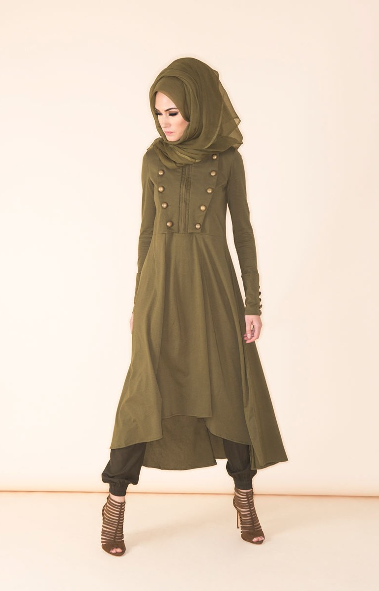 Bentuk Fashion Muslimah Modern Nkde Muslim Hijab Fashion and Style Through Hijabiworld