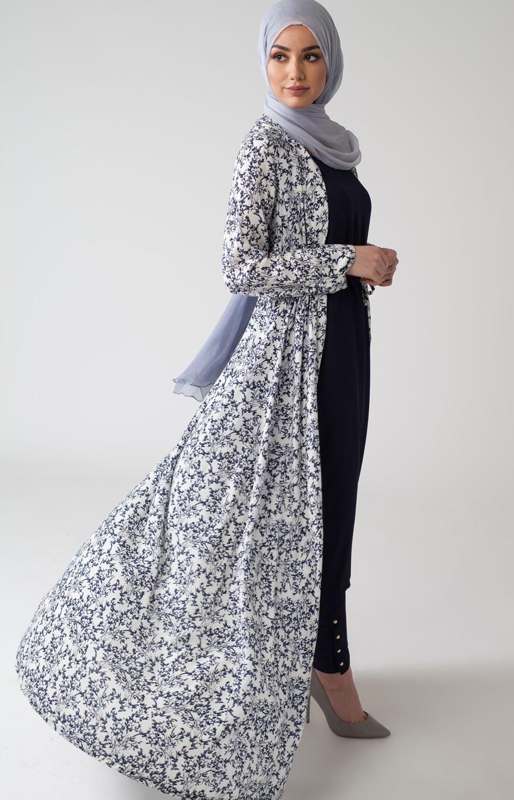 Bentuk Fashion Muslimah Modern Q0d4 Blue Ivy Kimono What S New 2017