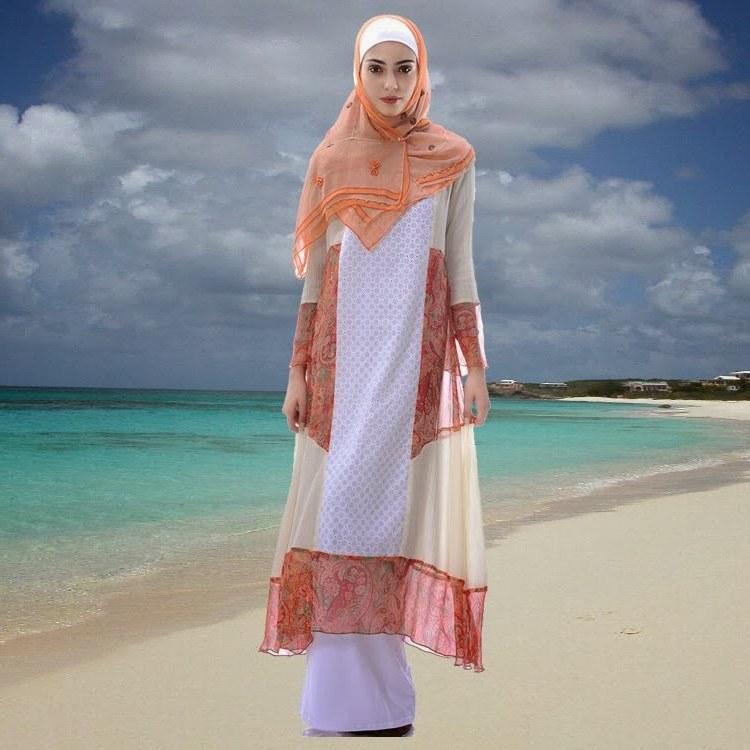 Bentuk Fashion Muslimah Modern Wddj Muslimah Fashion 2014