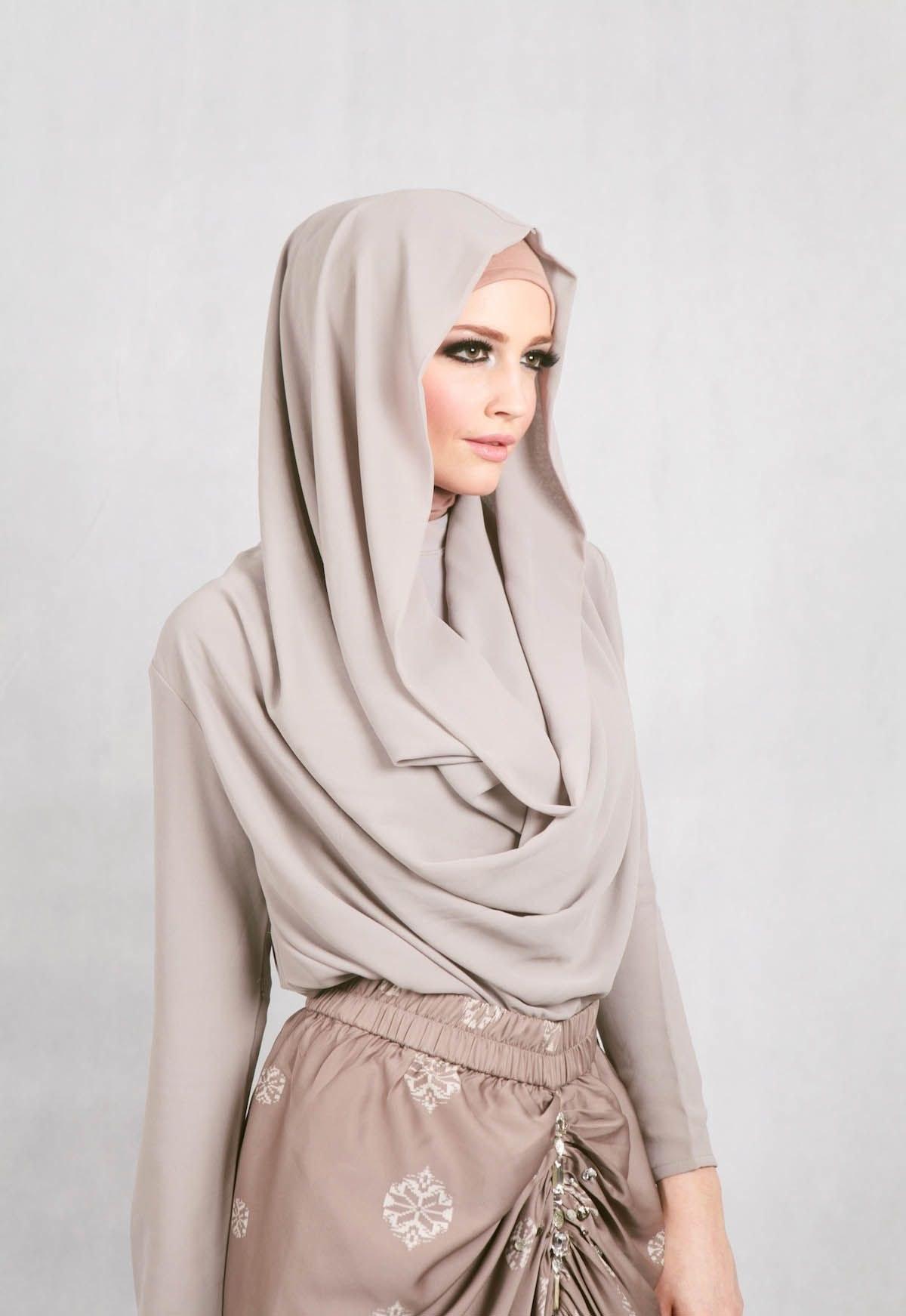 Bentuk Fashion Muslimah Modern Xtd6 Muslimah Fashion & Hijab Style Hijjap