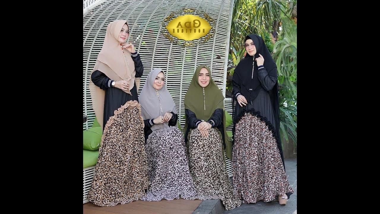 Bentuk Fashion Muslimah Terbaru 2020 9fdy 3 Model Baju Gamis Syari Terbaru 2019 2020 Indonesia Hijab