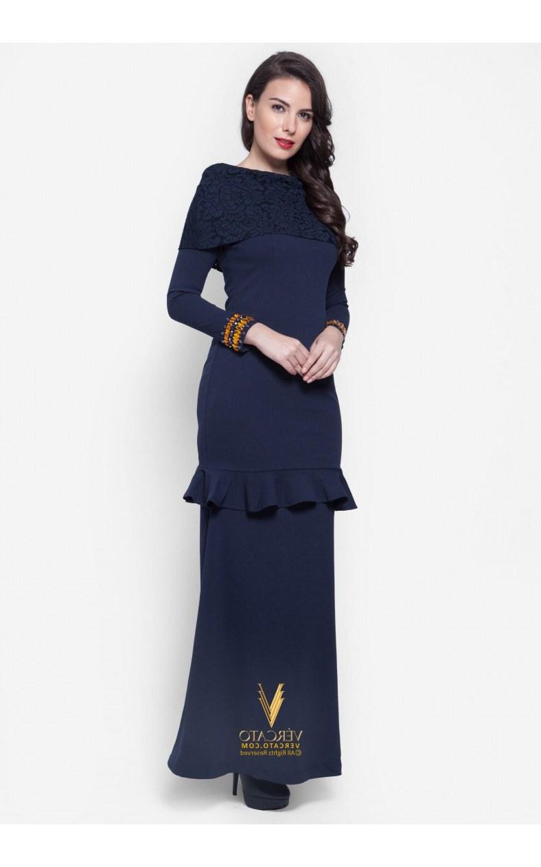 Bentuk Fashion Muslimah Terbaru 2020 E6d5 27 Fesyen Baju Kurung Terkini Untuk Raya 2020 Cantik