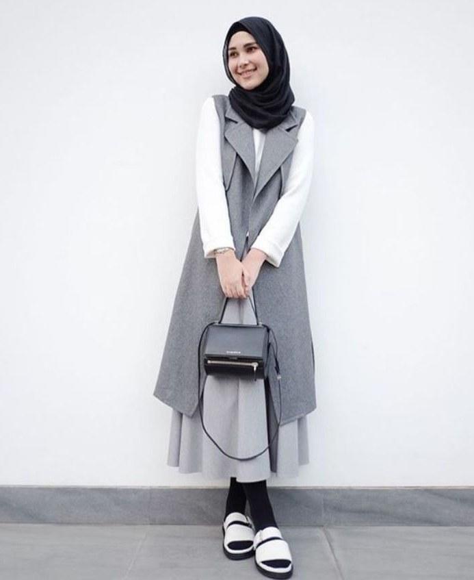 Bentuk Fashion Muslimah Terbaru 2020 Mndw 30 Model Gamis Trend Masa Kini Fashion Modern Dan
