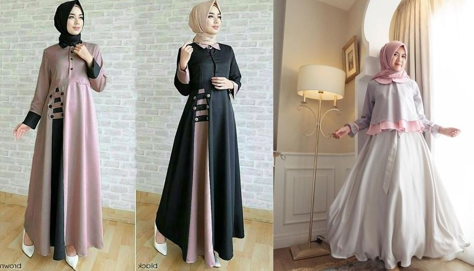 Bentuk Fashion Muslimah Terbaru 2020 Q5df Busana Muslimah 2020 Terbaru Mediasiana