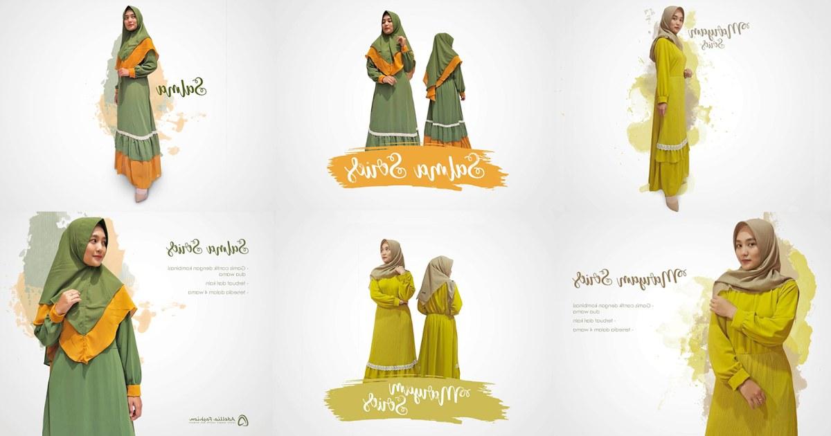 Bentuk Fashion Muslimah Terbaru 2020 Xtd6 Rekomendasi Gamis Muslimah Terbaru 2020 Adellia Fashion