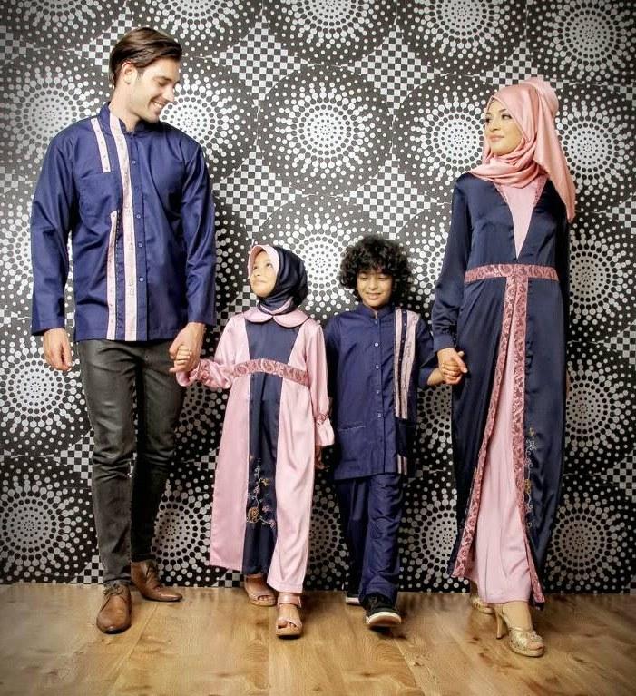 Bentuk Ide Baju Lebaran 87dx Ide Baju Muslim Sarimbit Keluarga Style Fashion Lebaran