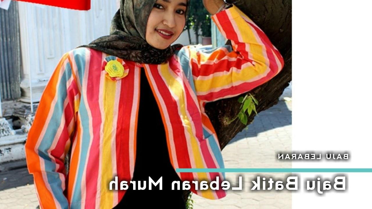 Bentuk Ide Baju Lebaran Kvdd Baju Batik Lebaran Murah