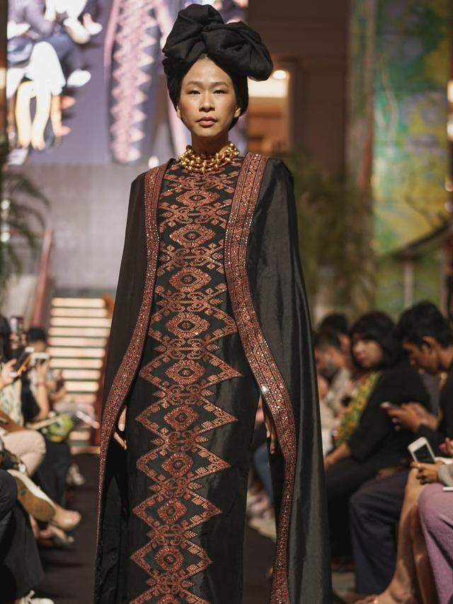 Bentuk Ide Baju Lebaran Y7du Keindahan songket Koleksi Svarna Dalam Baju Lebaran Modest